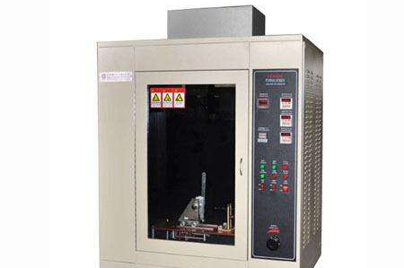 Installation and test operation of glow wire testing machine