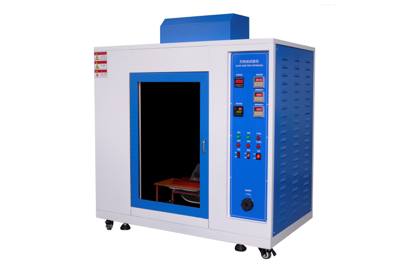 Solid flammable materials tested by glow wire testing machine