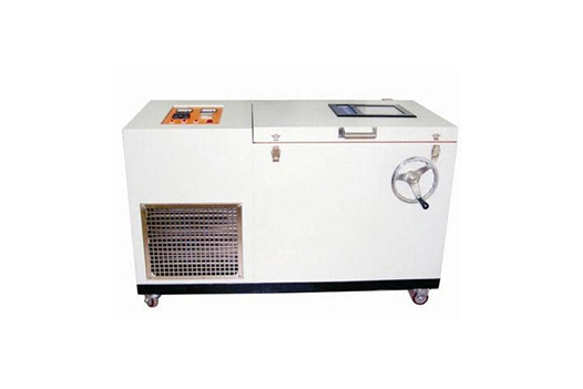 What items does the glow wire testing machine test for wires and cables?